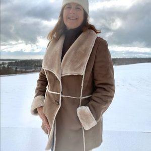 J. Jill faux shearling jacket